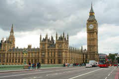 Parliament and Big ben Royalty Free Stock Photo