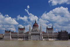 The Parliament in Budapest Royalty Free Stock Photography