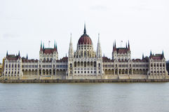 Parliament in Budapest. Parliament building in the Hungarian capital Budapest Stock Image