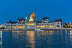 The Parliament in Budapest Stock Image