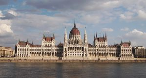Parliament in Budapest Stock Photography