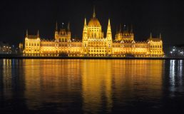 Parliament in Budapest Royalty Free Stock Photography