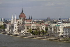 Parliament of budapest Stock Image