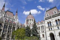 Parliament of budapest Stock Photo