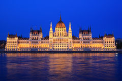 Parliament of Budapest Royalty Free Stock Photography