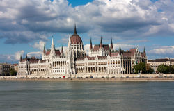The Parliament in Budapest. Hungary Stock Photography