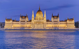 The Parliament in Budapest Stock Photo