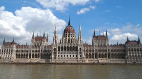Parliament in Budapest royalty free stock images
