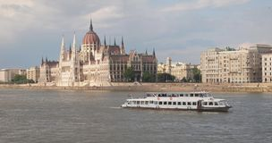 Parliament in Budapest. Parliament building in the Hungarian capital Budapest Royalty Free Stock Photo