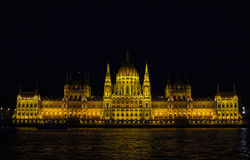 The Parliament in Budapest Royalty Free Stock Image