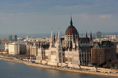 Parliament in Budapest Stock Images