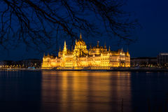 Parliament of Budapest Royalty Free Stock Image