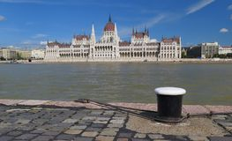 Parliament in Budapest the capital of Hungary Royalty Free Stock Photography