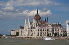 Parliament in Budapest the capital of Hungary Royalty Free Stock Image