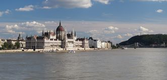 Parliament in Budapest the capital of Hungary Stock Photography