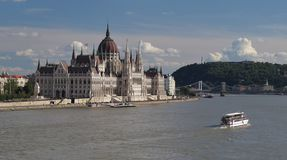 Parliament in Budapest the capital of Hungary Royalty Free Stock Photos