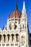 The Parliament in Budapest. The Hungarian Parliament in Budapest Royalty Free Stock Images