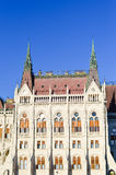 The Parliament in Budapest. The Hungarian Parliament in Budapest Royalty Free Stock Image