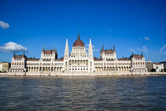 The Parliament in Budapest Royalty Free Stock Photos