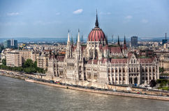 Parliament Budapest Royalty Free Stock Photo