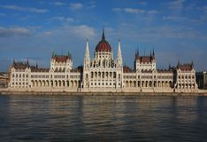 Parliament in Budapest, Hungary Stock Images