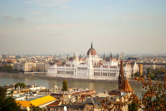The Parliament of Budapest (Hungary) Royalty Free Stock Photography