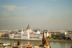 The Parliament of Budapest (Hungary) Stock Photo