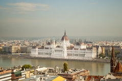 The Parliament of Budapest (Hungary) Stock Image
