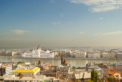 The Parliament of Budapest (Hungary) Royalty Free Stock Images