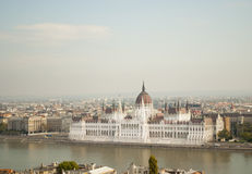 The Parliament of Budapest (Hungary) Royalty Free Stock Photo