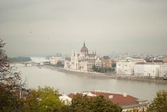 The Parliament of Budapest (Hungary) Royalty Free Stock Image