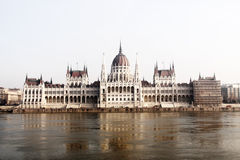 Parliament in Budapest, Hungary Stock Photo