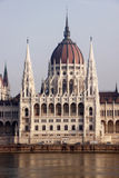 Parliament in Budapest, Hungary Stock Photos