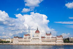 the Parliament in Budapest, Hungary Royalty Free Stock Photo