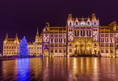 Parliament in Budapest Hungary Royalty Free Stock Images