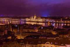 Parliament in Budapest Hungary Royalty Free Stock Photo