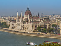 Parliament in Budapest, Hungary, Europe Royalty Free Stock Image