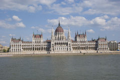 Parliament of Budapest, Hungary Royalty Free Stock Photo