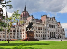 Parliament of Budapest, Hungary Stock Image
