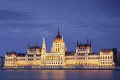 Parliament in the Budapest Stock Photography