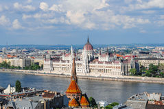 The Parliament in Budapest, Hungary Royalty Free Stock Image
