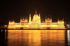 Parliament in budapest Royalty Free Stock Photo
