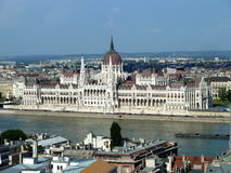 Parliament of Budapest Royalty Free Stock Images