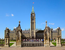 Parliament Building. Canada's parliament. Ottawa. Ontario stock photos