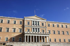 Parliament building in Athens Royalty Free Stock Photography
