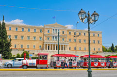 Parliament building in Athens, Greece Stock Image