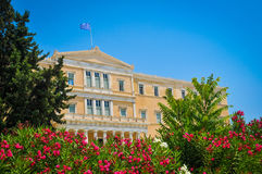 Parliament building in Athens, Greece Stock Photos