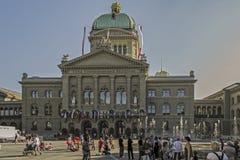 Parliament. Building in Bern, Budeshaus Stock Image