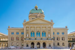 Parliament building in Bern - Switzerland Royalty Free Stock Image