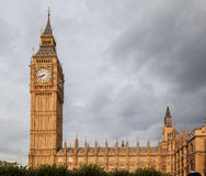 Parliament Building and Big Ben London England Royalty Free Stock Image